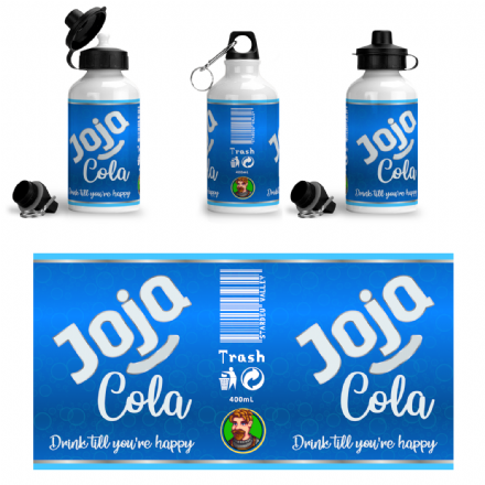 Joja Cola Design Aluminium Sports Water Bottle